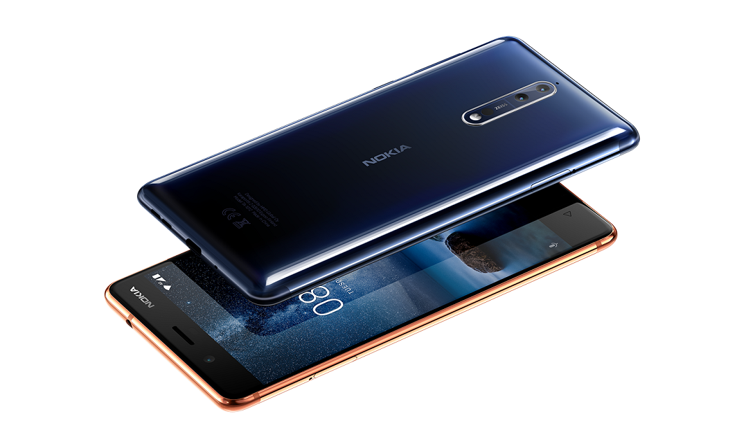 HMD Global launched #Nokia 8 for GCC region in Dubai, UAE.