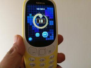 Snake game on Nokia 3310