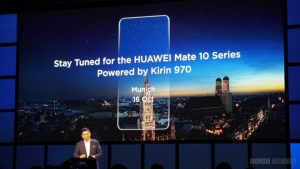 Launch date of Mate 10 and Mate 10 Pro - Image credit Android Authority