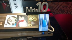 Huawei Mate 10 displayed at the MEA launch
