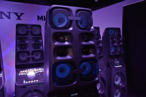 Sony's MHC_V90DW - Speaker's Mids and horn twitters