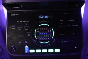 Sony's MHC_V90DW - front panel