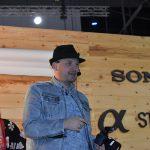 Photographer Jason explaining the features of Sony α7R III camera