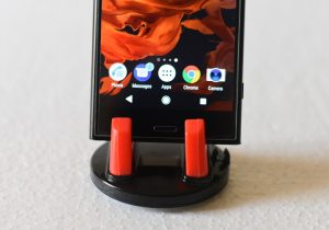 Sony Xperia XZ1 - Speaker on bottom front side