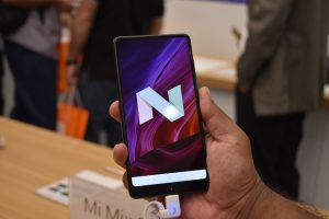 Smartphone MI Mix2 has Android Nougat