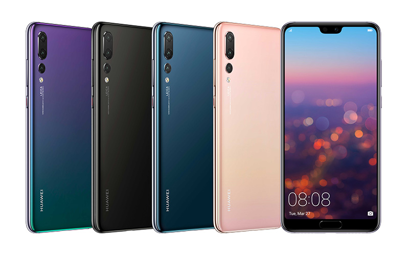 Huawei launched new P Series smartphones P20 & P20 Pro and Porsche Design Huawei Mate RS Smartphone