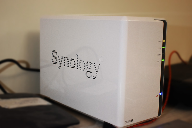 Review of Synology DISKSTATION DS218J (2 Bay NAS Drive)