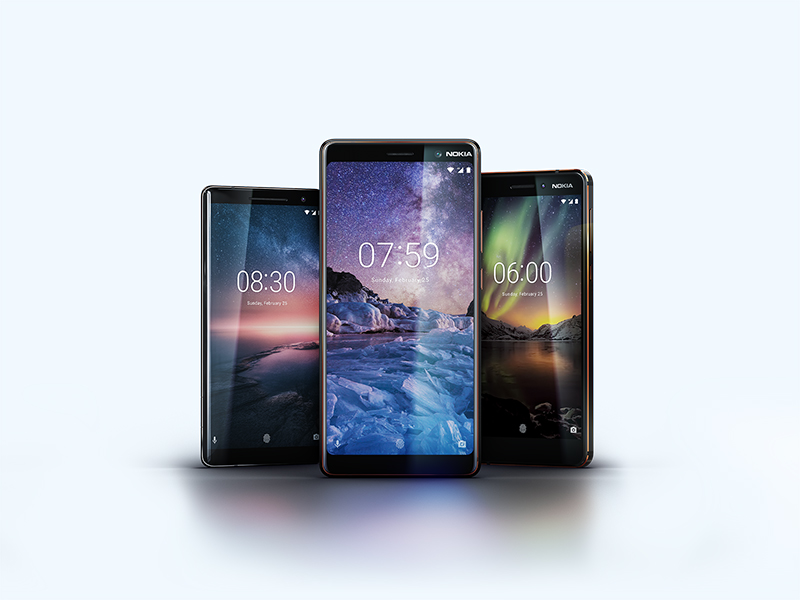 HMD Global launches Nokia 8 Sirocco, Nokia 7 plus and the new Nokia 6 for UAE