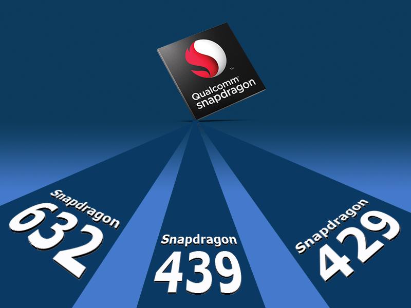 Qualcomm-Snapdragon-releases 632, 439 & 429 Chipset