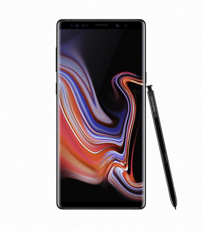Samsung_galaxynote9_front_pen