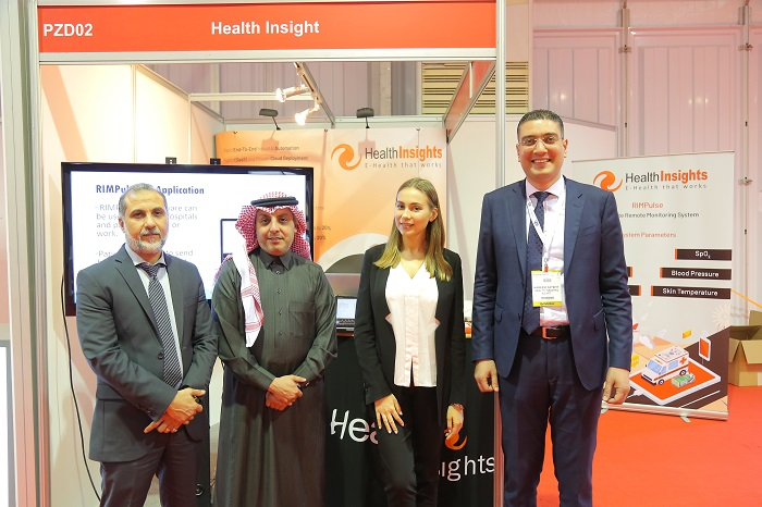Health Insight stand