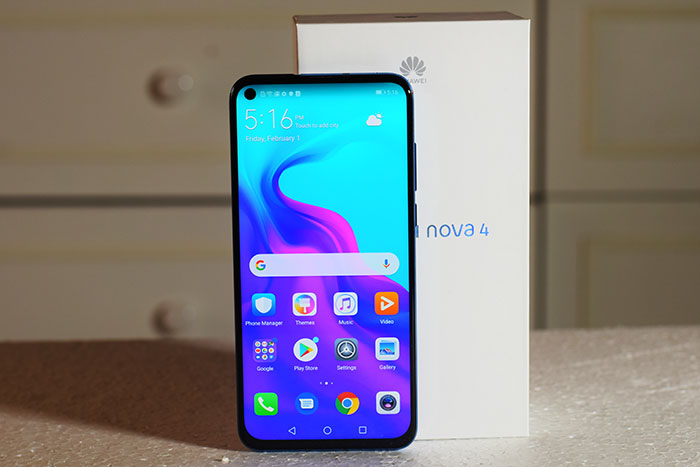 "Review of Huawei Nova 4 Smartphone. ""A mid-range smartphone with hi-end features"""