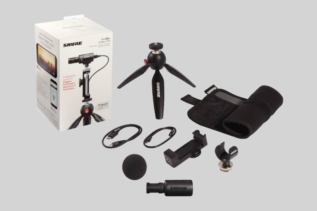 MV88+ Video Kit - accessories