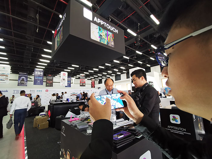 Huawei Mobile Services launches AppTouch for global carriers at the Digital Game Conference 2019
