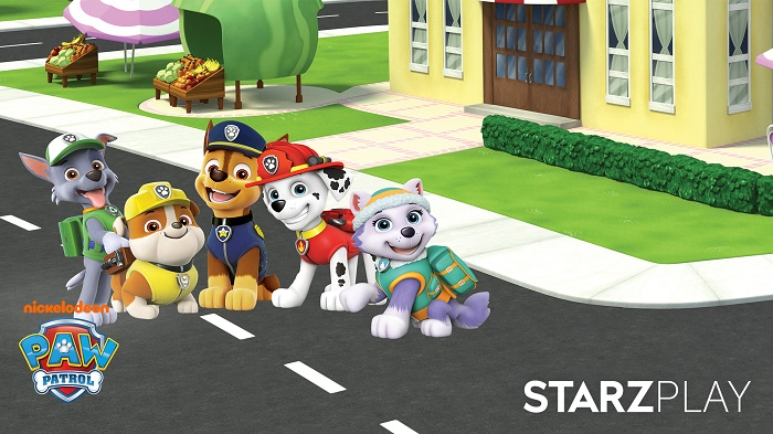 PAW PATROL ON STARZ PLAY