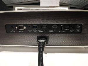 Benq Projectors-W2700-Back-Panel