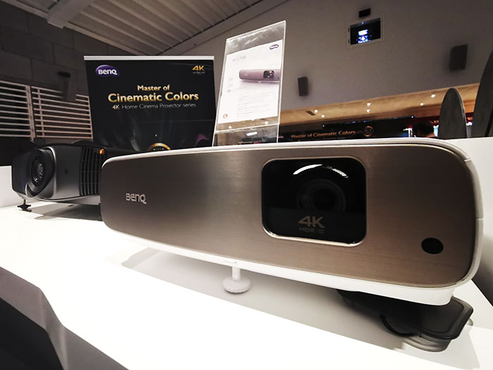 BenQ Unveils Two 4K HD-PRO Projectors With DCI-P3 Color Gamut In The Middle East