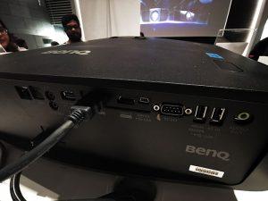Benq Projectors-W5700-Back-Panel