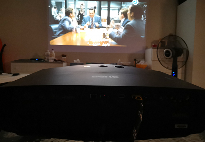 BenQ-CinePrime-W5700-Projector-Projection