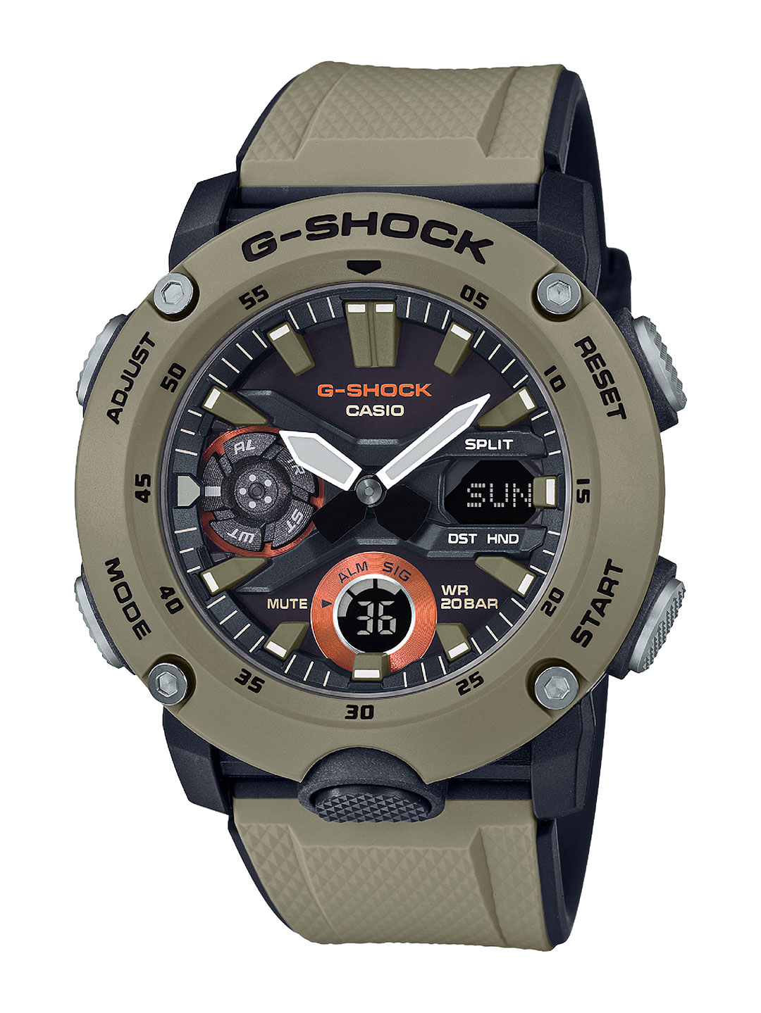 G-SHOCK-GA-2000-Military-Color-Gold