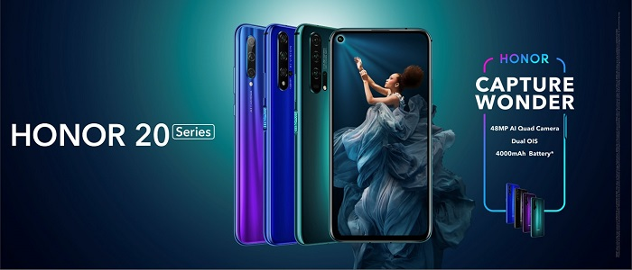 HONOR Global Officially Launch HONOR 20 Series of Smartphones