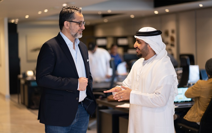 Naseer Ahmed (CSO & Co-Founder) & Abdulla Al Shaibani (Co-Founder & Investor)