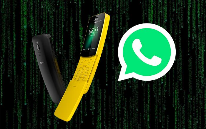 Nokia-8110_with WhatsApp