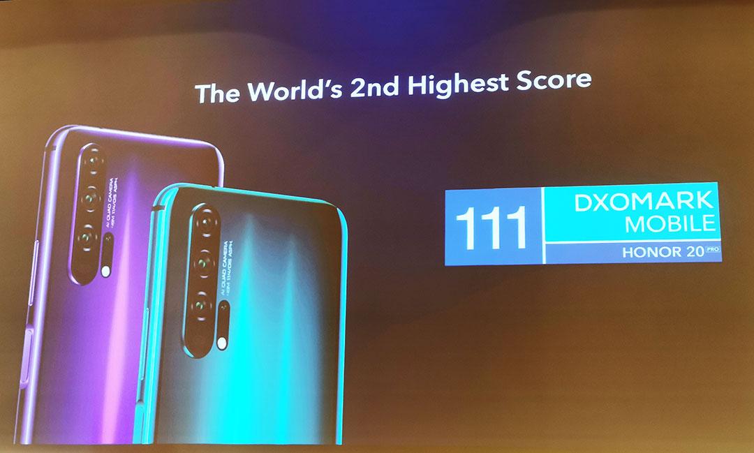 HONOR-20-PRO-smartphones-Second-highest-DxOMark-score