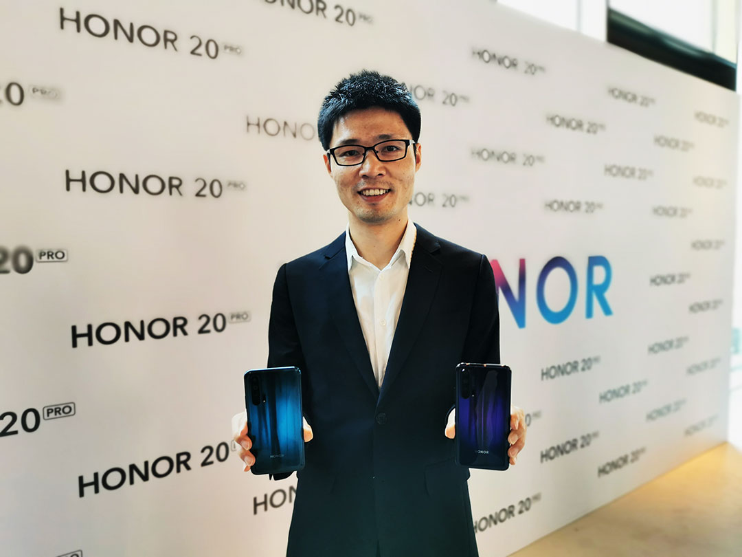 Hang-Chen-Head-of-HONOR-GCC-with-HONOR-20-PRO-smartphones