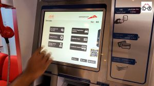 Renewing Driving license at RTA Smart Teller Kiosk