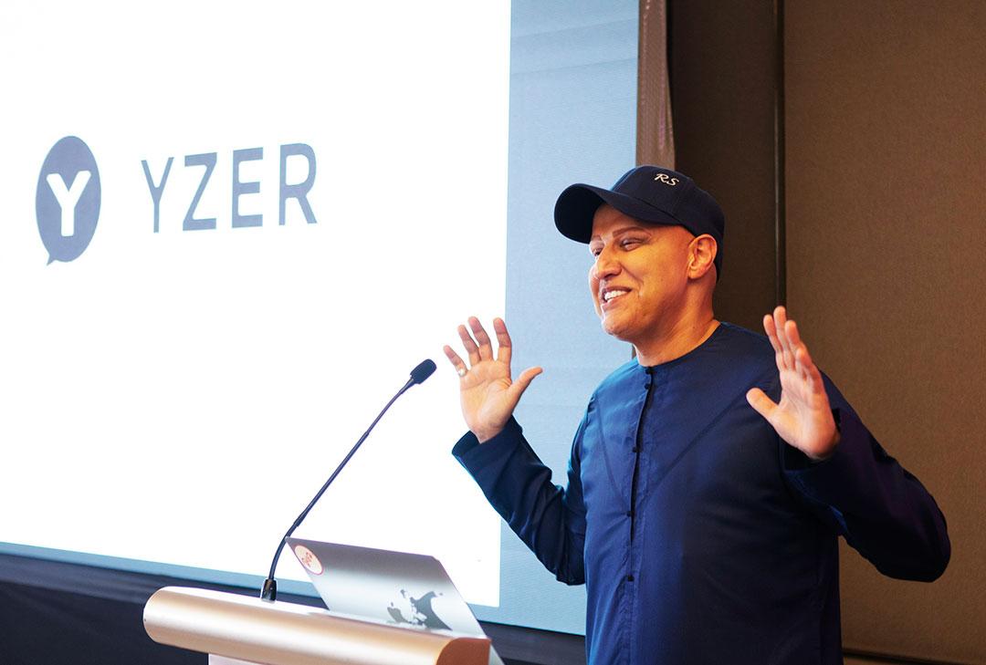 Dubai-Entrepreneur-Balvinder-Singh-Sahni-(Abu-Sabah)-at-the-launch-of-YZER-in-Dubai