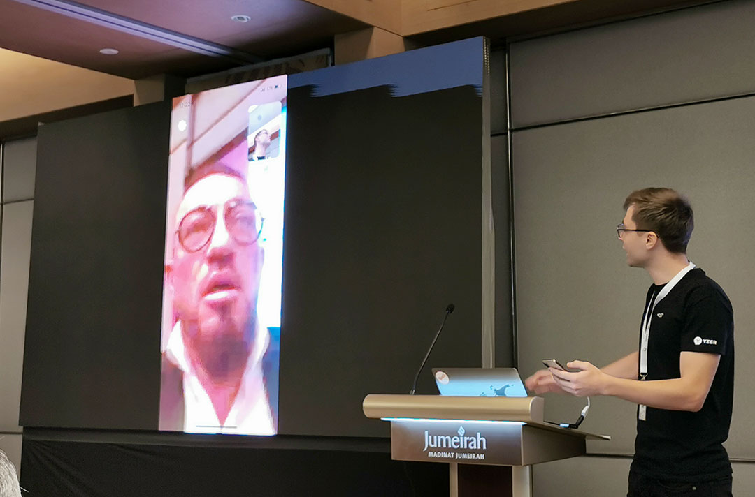 Live_Demonstration_Shown_at-the-launch-of-YZER-Video_chat