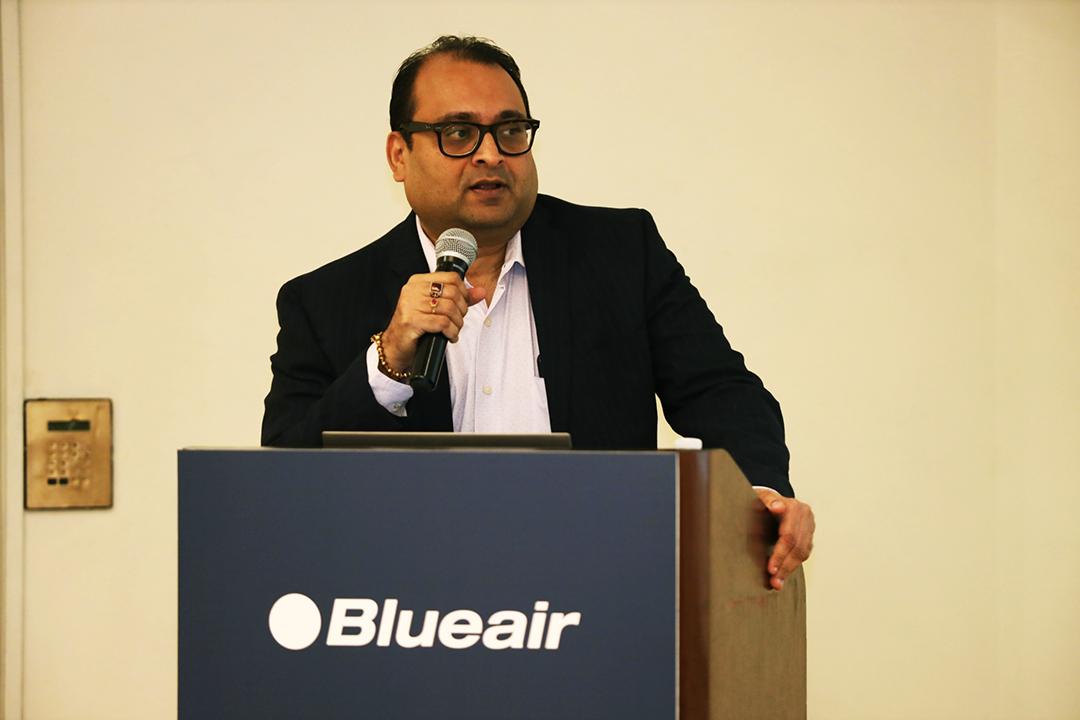 TR-Ganesh-Blueair -at-the-Saudi-launch