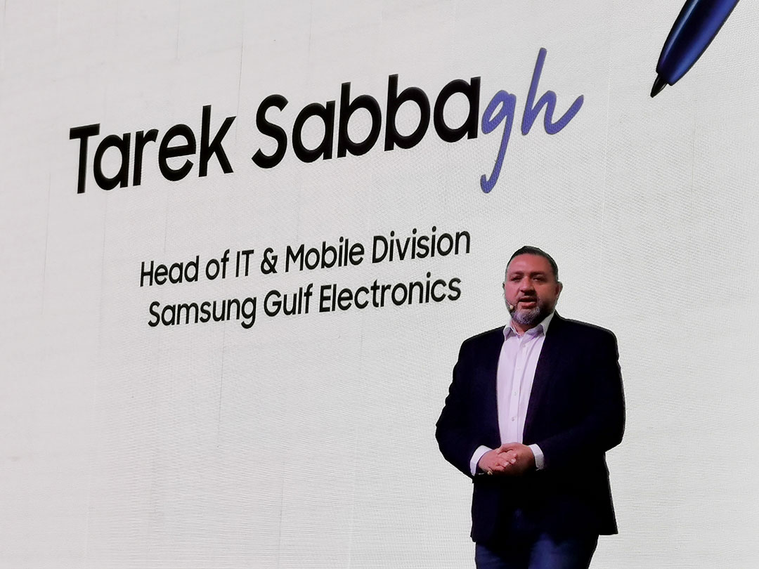 Tarek-Sabbagh-at-the-launch-of-Samsung-Note_10_&_10Plus