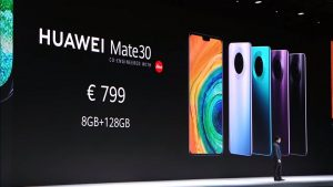 Huawei Mate 30 Launch Price