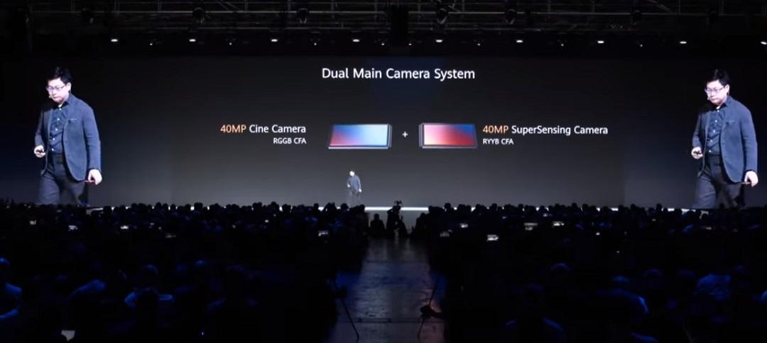 Huawei Mate 30 Pro- Dual Main Camera Sensor