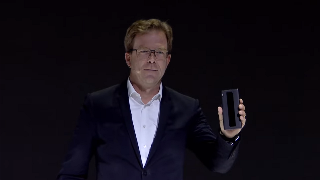 Huawei Mate 30 RS- Jan Becker- CEO, Porsche Design