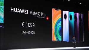 Huawei Mate 30 Pro launch price