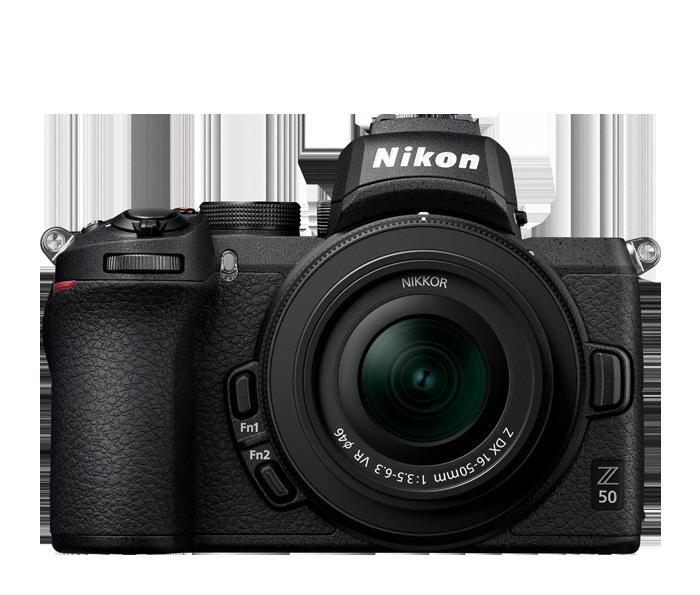 Nikon-Z50-front