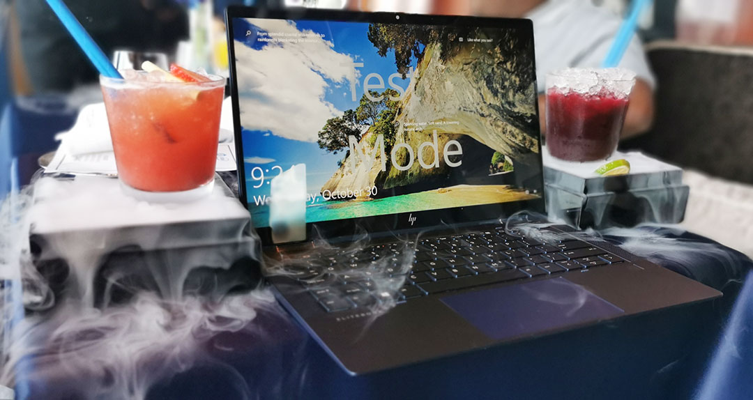 """HP INC Launched the Lightest Compact Business Convertible Laptop """"Elite Dragonfly"""" weighing less than 1kg for UAE Market"""