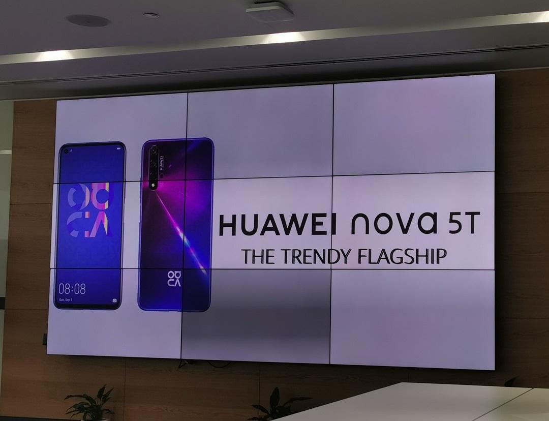 Huawei Introduces Nova 5T Smartphone at Dubai Office