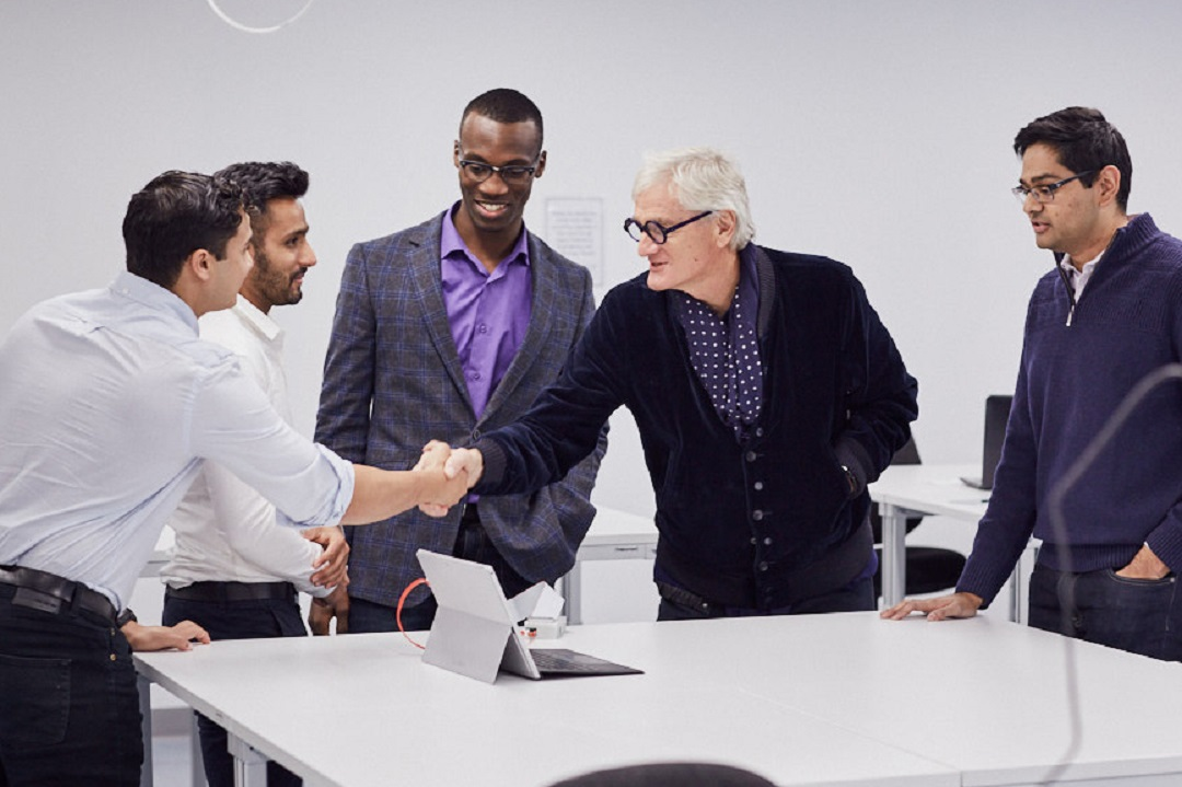 James Dyson meeting Inventors