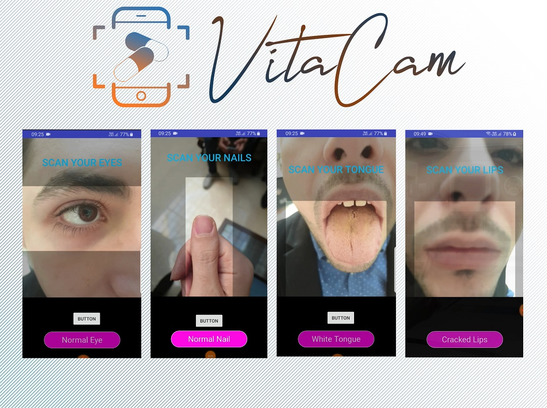 Vita Cam Smartphone Application Image