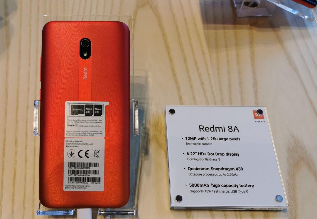 Xiaomi Redmi 8A - Back Panel