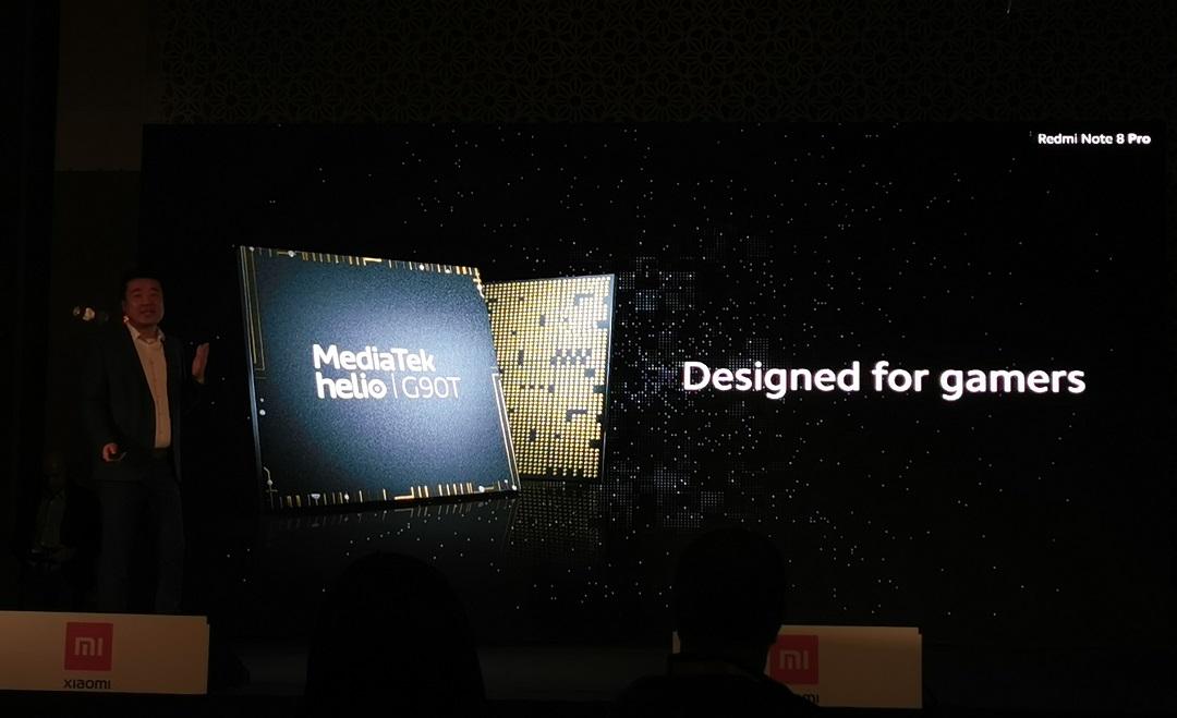 Xiaomi Redmi Note 8 Pro- Mediatek-Helio G90T chipset