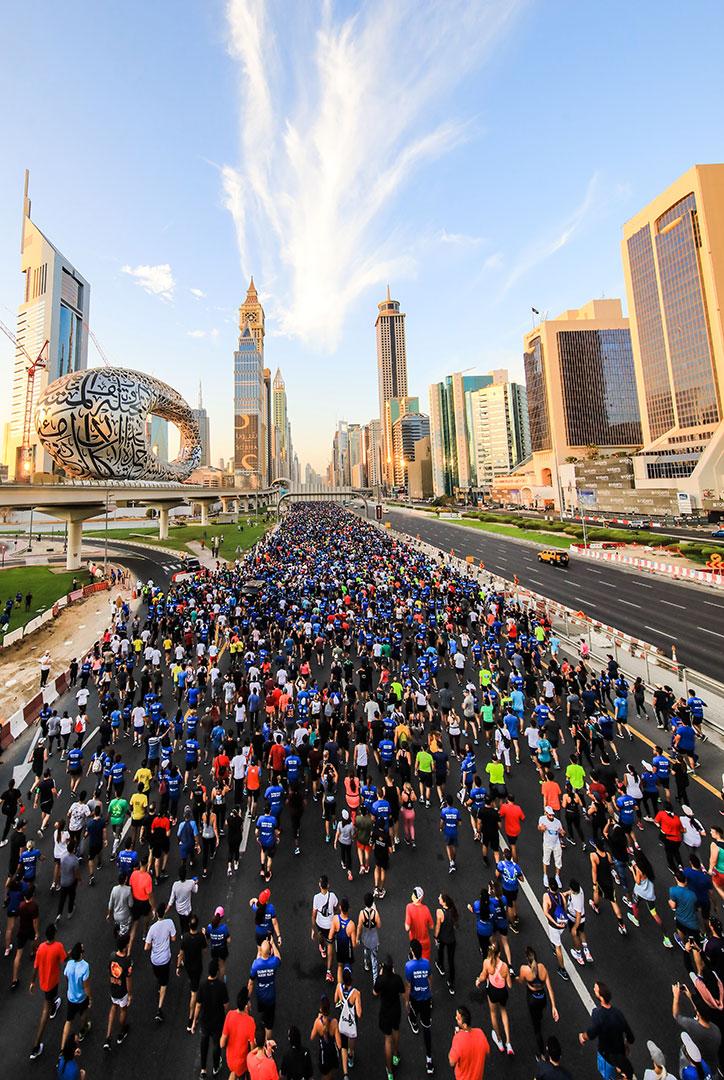 70000 people ran in Dubai Run 30X30