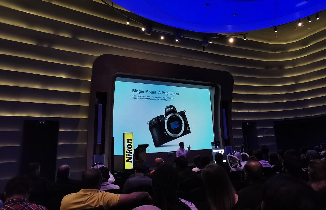 Nikon Z50 Mirrorless Camera- Launch Event at V Hotel - Dubai-UAE