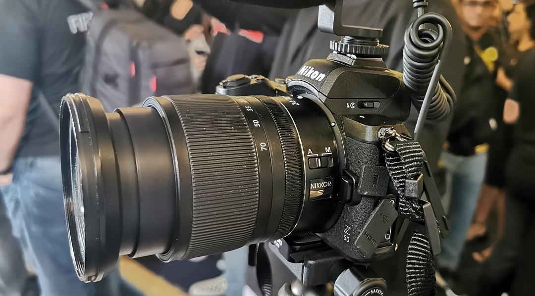 Nikon Z50 Mirrorless Camera- Left_view