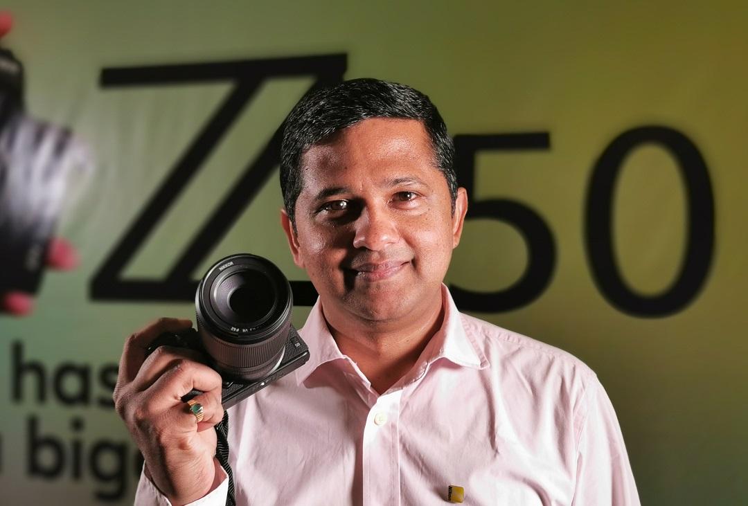 Nikon Z50 Mirrorless Camera- Narendra Menon, Managing Director, Nikon Middle East FZE