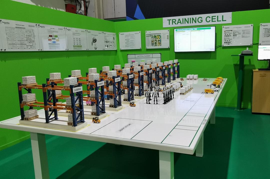 Schneider Electric Smart Distribution Center -Training Center